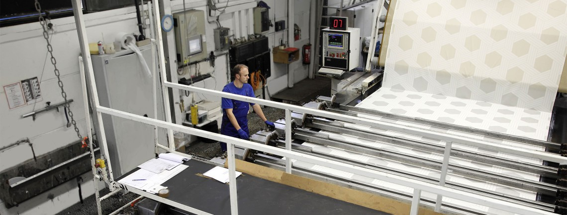 Die Druckabteilung